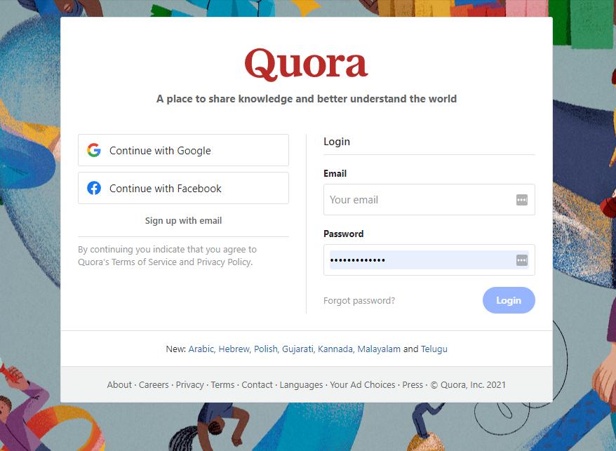 quora questions